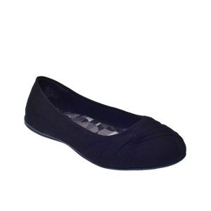 Flat Easy On Shoe-Black