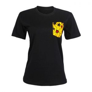 Female Pavillion Crew Neck Tshirt- Black