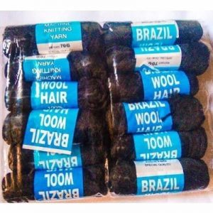 Brazilian Wool – 12 Pieces