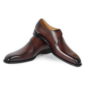 corporate handmade leather formal men shoes