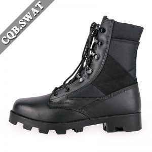 Combat Leather Boots Military Tactical For Delta