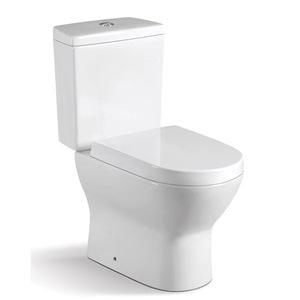 Bathroom Ceramics Two Pcs Toilet Wc Water Closet 3D