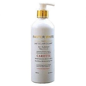 Faster White Paris Whitening Body Milk With Carrot And Vitamin E