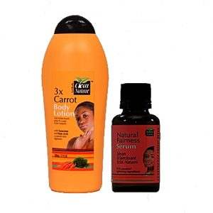 Clear Nature Carrot Lotion + Serum