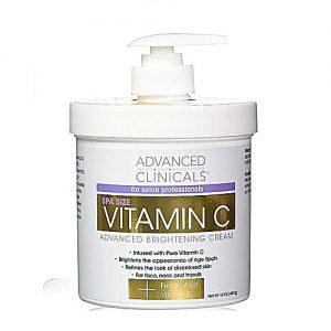 Advanced Clinicals Vitamin C Advanced Brightening Cream