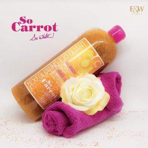 Fair & White So Carrot Exfoliating Shower Gel