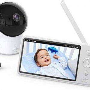 "BaSpaceView Video Baby Monitor, 5"" LCD Display, 720p HD"