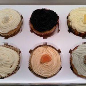 ZEE box of 6 cupcakes