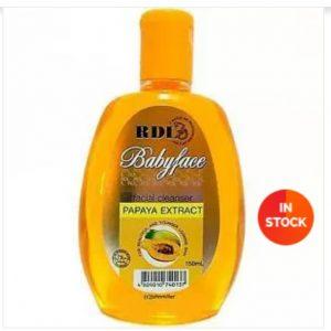 RDL Papaya extract facial cleanser